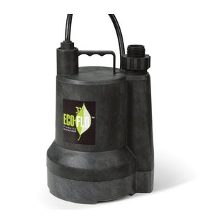 ECO-FLO SUP54 0.166 HP Manual Thermoplastic Submersible Utility Pump