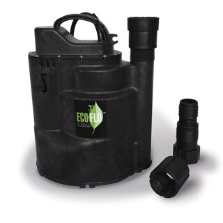 ECO-FLO SUP59 0.5 HP Automatic Thermoplastic Submersible Utility Pump