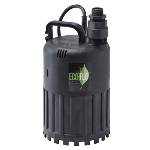ECO-FLO Products SUP80 0.5 HP Automatic Thermoplastic Submersible Utility Pump