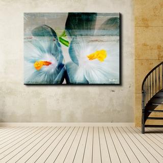 Ready2HangArt 'Painted Petals XX' Floral Canvas Wall Art