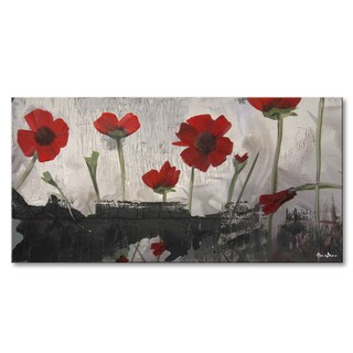 Ready2HangArt 'Painted Petals II' Canvas Wall Art