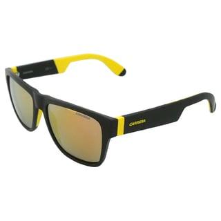 Carrera Unisex '5002/SP 267UW' Black and Yellow Sunglasses