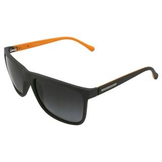 Dolce & Gabbana Men's 'DG 6086 2809/T3' Grey Rubber Polarized Sunglasses