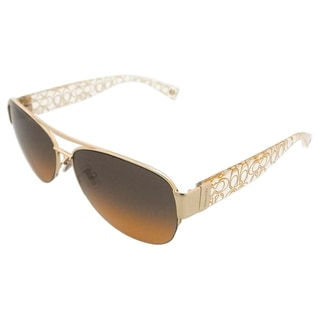 Coach Addison HC7042 917895 Women's Orange Sunglasses