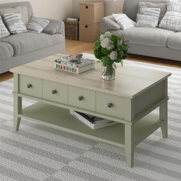 Altra Laguna Oak Beach Sand Coffee Table - Altra Laguna Oak Beach Sand Coffee Table - Free Shipping Today