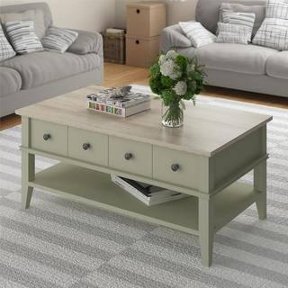 Altra Laguna Oak Beach Sand Coffee Table