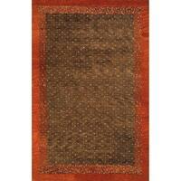 Momeni Desert Gabbeh Hand-Knotted Wool Rug - 2' x 3'