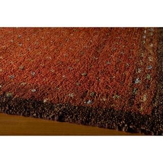 "Momeni Desert Gabbeh Hand-Knotted Wool Rug - 7'6"" x 9'6"""