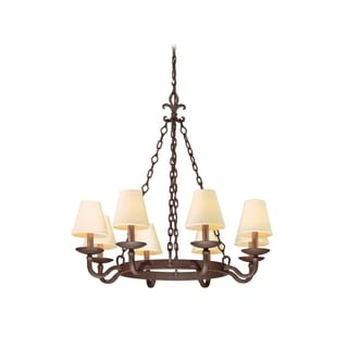 Troy Lighting Lyon 8-light Chandelier