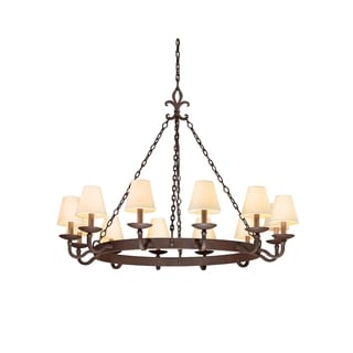 Troy Lighting Lyon 12-light Chandelier