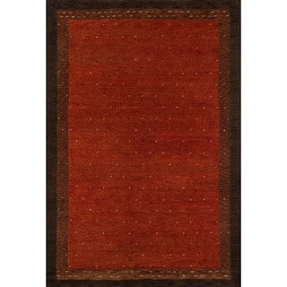 "Momeni Desert Gabbeh Hand-Knotted Wool Rug - 5'3"" x 8'"