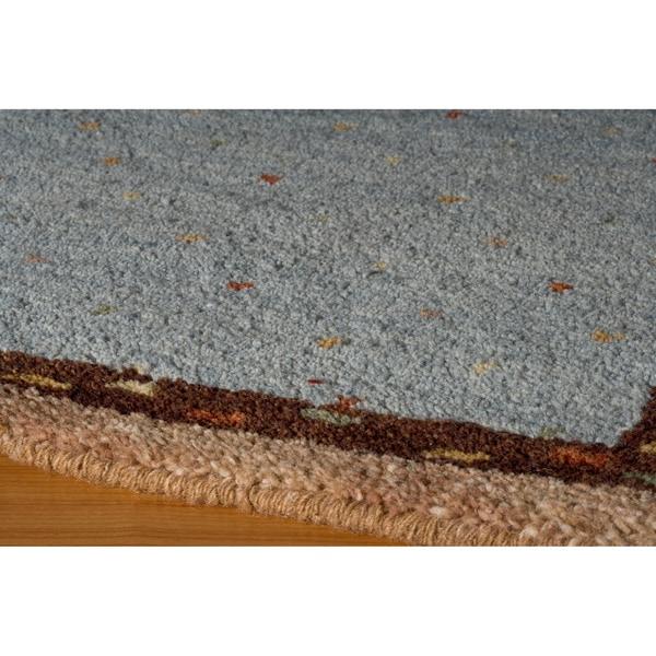 "Momeni Desert Gabbeh Hand-Knotted Wool Rug (7'6 X 9'6) - 7'6"" x 9'6"""