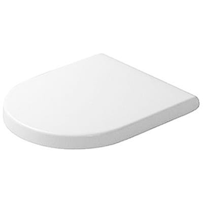 Duravit White Round Toilet Seat and Cover with SoftClose ...