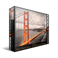 City Collection San Francisco Golden Gate Bridge 1000-piece Puzzle