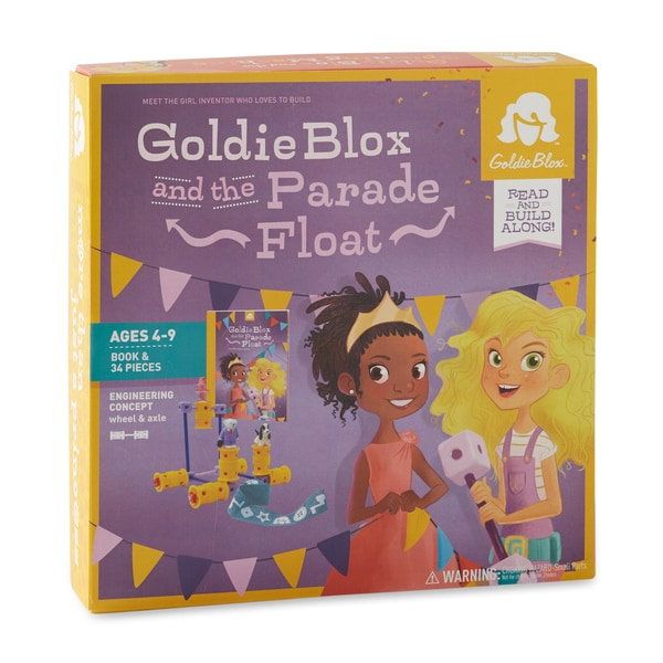 GoldieBlox and the Parade Float Interactive Book