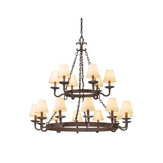 Troy Lighting Lyon 18-light Two-tier Chandelier