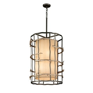 Troy Lighting Adirondack Large 6-light Entry Pendant