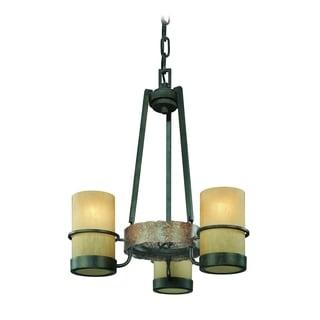 Troy Lighting Bamboo 3-light Chandelier