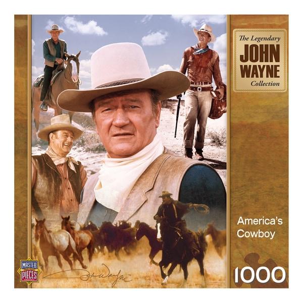 John Wayne America's Cowboy 1000-piece Puzzle