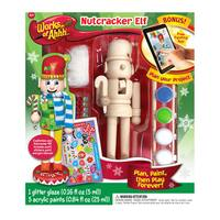 Works of Ahhh... Nutcracker Elf Wood Painting Kit