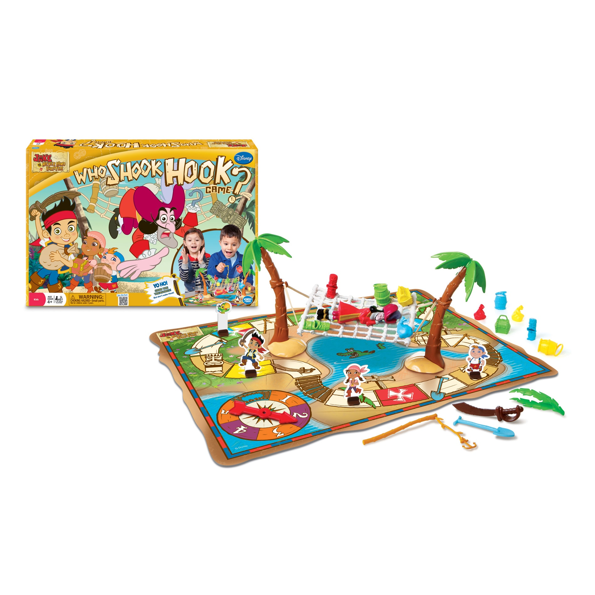 Wonder Forge Disney Jake and the Never Land Pirates Who S...