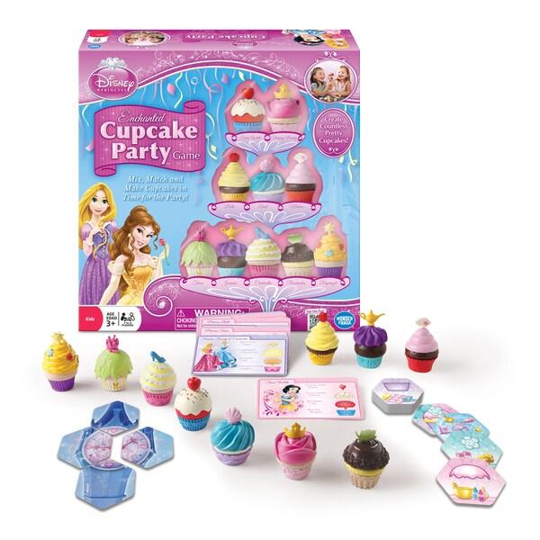 Disney Princess Enchanted Cu pieceake Party Game