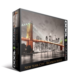 City Collection New York City Brooklyn Bridge 1000-piece Puzzle