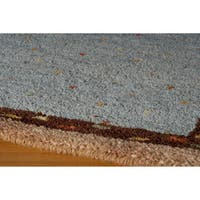 "Momeni Desert Gabbeh Hand-Knotted Wool Rug - 3'9"" x 5'9"""