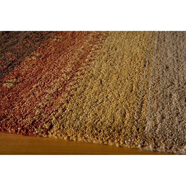 "Momeni Desert Gabbeh Hand-Knotted Wool Rug (3'9 X 5'9) - 3'9"" x 5'9"""