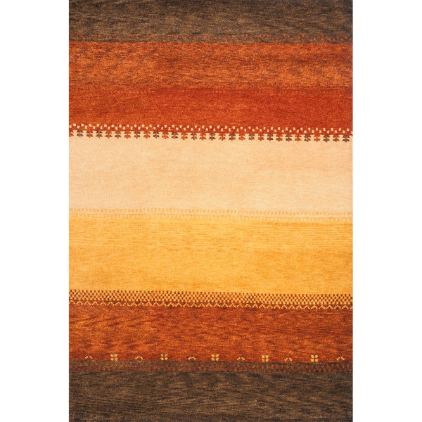 Momeni Desert Gabbeh  Hand-Knotted Wool Rug (3'9 X 5'9)