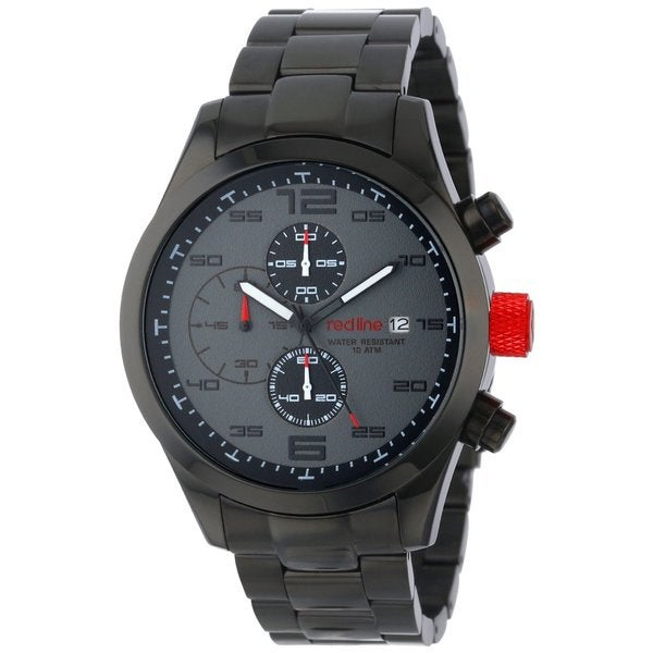 Shop Red Line Men's Stealth Grey Watch - Free Shipping ... - photo #31