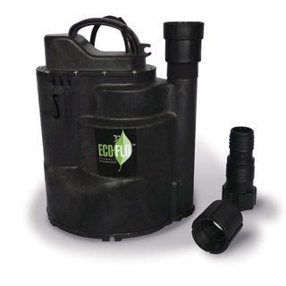 ECO-FLO SUP58 Automatic Thermoplastic Submersible Utility Pump