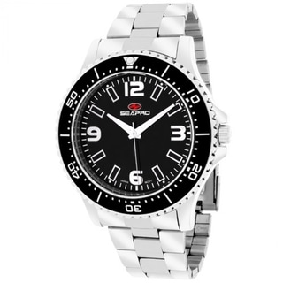 Seapro Men's SP5330 Tideway Round Silver Bracelet Watch
