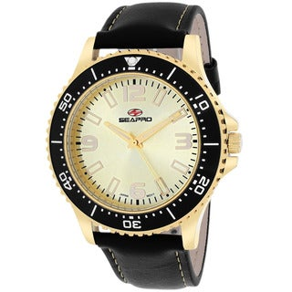 Seapro Men's SP5315 Tideway Round Black Strap Watch