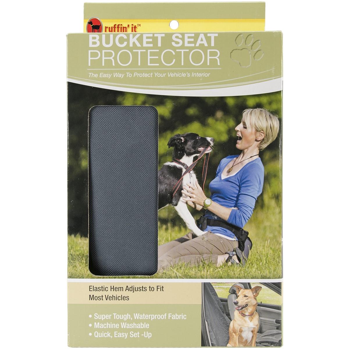 Westminster Car Bucket Seat Protector-Grey (Grey)