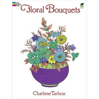 Dover Publications-Floral Bouquets Coloring Book