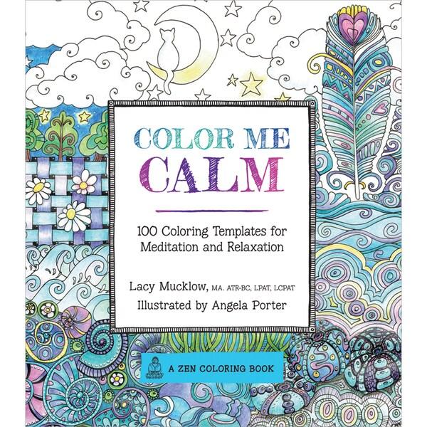 Race Point Publishing Books-Color Me Calm