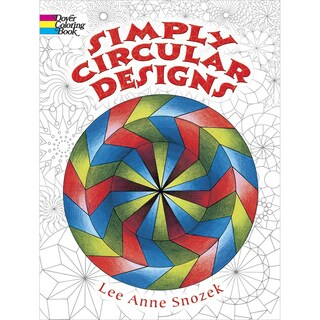 Dover Publications-Simply Circular Designs Coloring Book