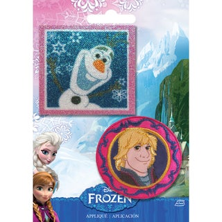 Disney Frozen Iron-On Appliques 2/Pkg-Olaf & Kristoff