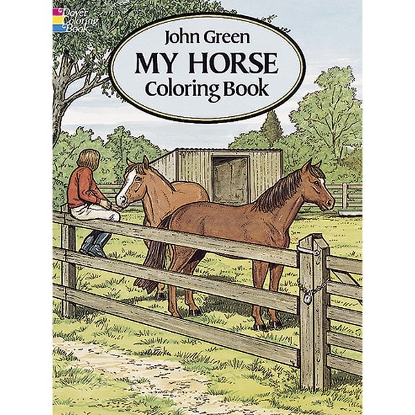 Shop Dover Publications My Horse Coloring Book Free Shipping On