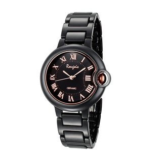 Rougois Women's Cloud Series Black Cloud Small Watch