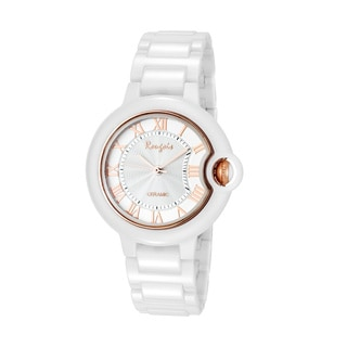 Rougois Women's Cloud Series Rose Goldtone Cumulus Small Face Watch