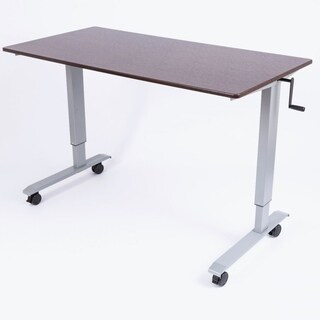 Luxor Standup-CF60-DW 60-inch Crank Adjustable Stand-Up Desk