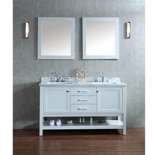 Bayhill 60-inch Double-sink Bathroom Vanity Set