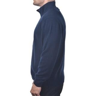 Men's Italian Cashmere Button-up Cardigan