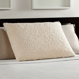 Comfort Memories Sherpa and Memory Foam Pillow