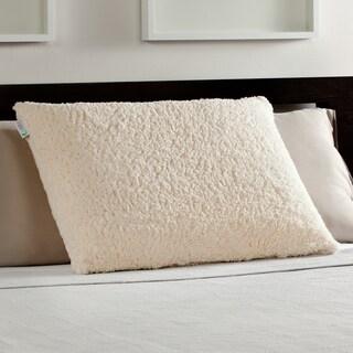 Comfort Memories Sherpa and Memory Foam Pillow