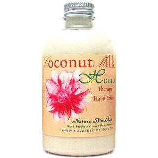 Handmade 5-ounce Coconut Hemp Hand/ Body Lotion (USA)