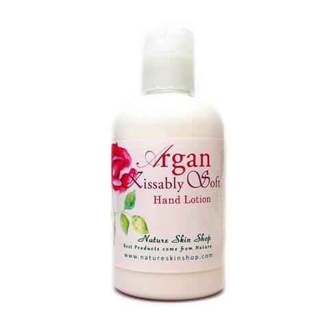 Handmade 5 Ounce Argan Kissably Soft Hand or Body Lotion