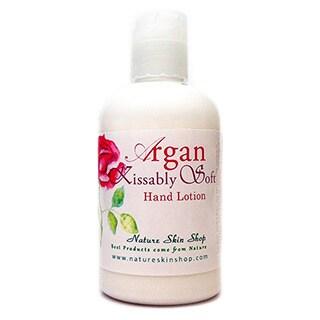 Handmade 5-ounce Argan Kissably Soft Hand/ Body Lotion (USA)